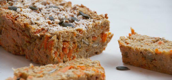 Havermout wortel cake